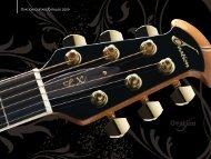 Ovation Guitars Catalog 2009 - Jedistar