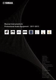 Musical Instruments & Professional Audio Equipment 2011 ... - Jedistar