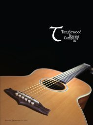 Tanglewood brochure North America 2011 - Jedistar