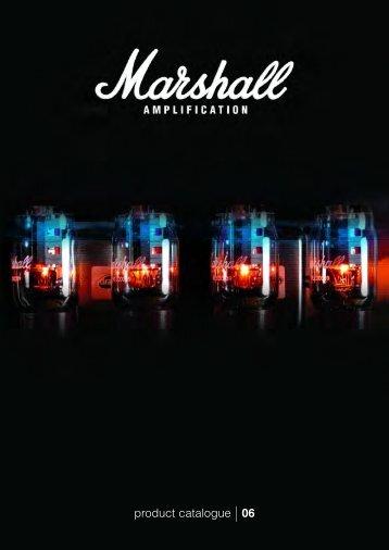 Marshall product catalog 2006 - Jedistar