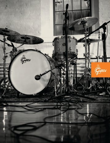 Gretsch drums catalog 2011