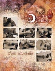 2012 Catalog - Luna Guitars - Jedistar