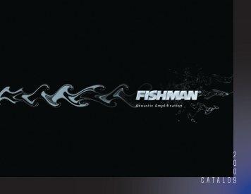 2009 Fishman product catalog - Jedistar