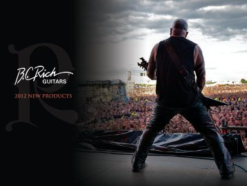 2012 NEW PRODUCTS - BC Rich Guitars