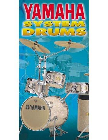 Yamaha 2013 drum catalog - Jedistar