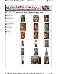 Rarebird picture gallery 2005 - Jedistar