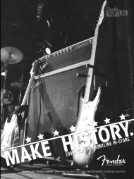 2009 Fender ® Frontline in-Store