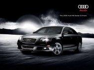• The 2008 Audi A6 Sedan & Avant - Jeff Young Design
