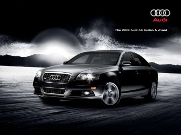 • The 2008 Audi A6 Sedan & Avant - Jeff Young Design