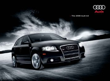 2008 Audi A3 Brochure - Jeff Young Design