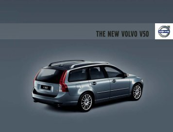 V50 Model Year 2008 USA (PDF) - Volvo Owners Club