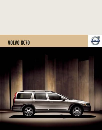 2007 Volvo XC70 Brochure (US).pdf - Volvo Owners Club