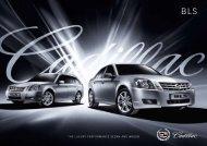 2009 Cadillac BLS Wagon Brochure - Jeff Young Design