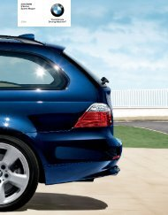 2008 BMW 535 Wagon Brochure - Jeff Young Design