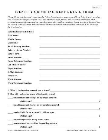 Identity Crime Incident Detail Form (.pdf)