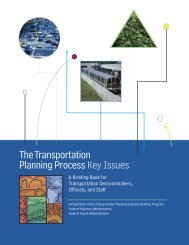 The Transportation Planning Process - INCOG