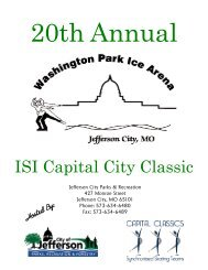 the 2013 competition packet - City of Jefferson City