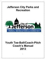 Coach's Packet - City of Jefferson City