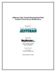 Service Alternatives - City of Jefferson City
