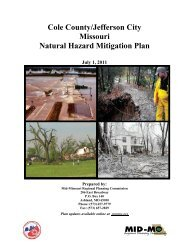 2011 Jefferson City-Cole County Hazard Mitigation Plan