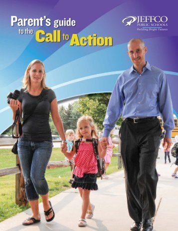 Parent's Guide to the Call to Action - JEFFCO Public Schools