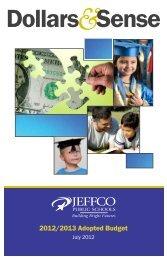 Dollars Sense - JEFFCO Public Schools