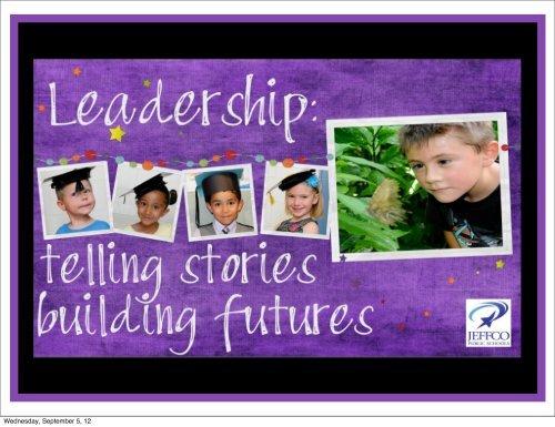 Wednesday, September 5, 12 - JEFFCO Public Schools