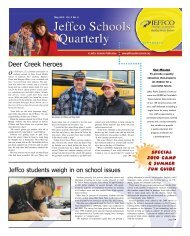 May 2010 - JEFFCO Public Schools