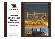 1530 Wed 2 Kodiak Oil Gas Corp - Jefferies