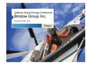 1500 Thu 3 Bristow Group - Jefferies