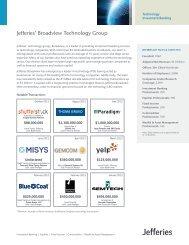 Jefferies' Broadview Technology Group