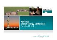 1100 Wed 2 Newfield Exploration - Jefferies