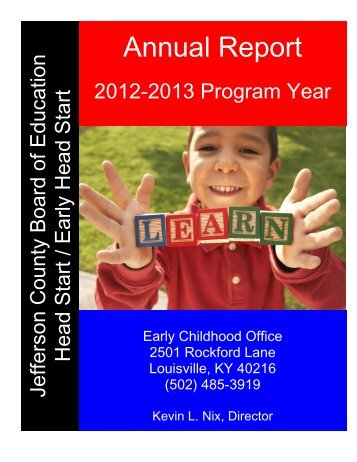 Annual Report - Jefferson County Public Schools
