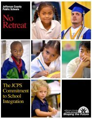 No Retreat - Jefferson County Public Schools