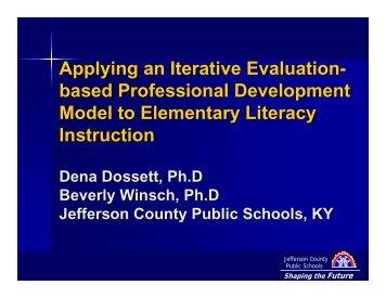 Shaping the Future - Jefferson County Public Schools