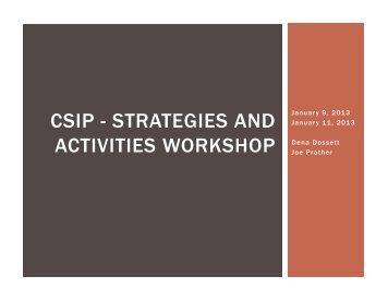 ASSIST CSIP Powerpoint - Strategy Work Session - Jefferson ...
