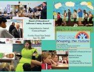 Comprehensive Annual Financial Report - Jefferson County Public ...