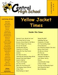 Yellow Jacket Times - Jefferson County Public Schools