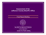 Board Presentation - Jefferson County