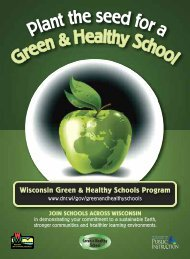 Wisconsin Green & Healthy Schools Program - Jefferson County
