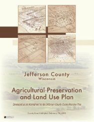 Agricultural Preservation & Land Use Plan - Jefferson County