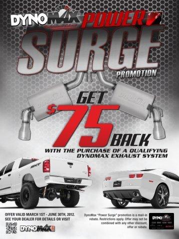 "DynoMax ""Power Surge"" Promotion - Performance 4 Trucks"