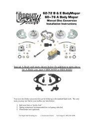 The Right Stuff RKT7402 Power Disc Front Brake Line Kit 4 Piece