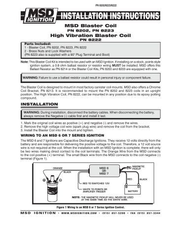 msd 8737 rpm module selector installation instructions jegs msd 8202 ignition coil installation instructions jegs
