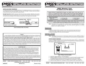 MSD Blaster Coil - Jegs