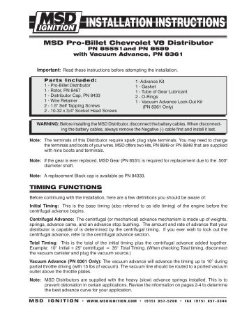 Jegs distributor wiring diagram wiring diagrams schematics msd 85821 distributor installation instructions jegs chevy distributor wiring diagram chevy hei distributor wiring diagram installation asfbconference2016 Image collections