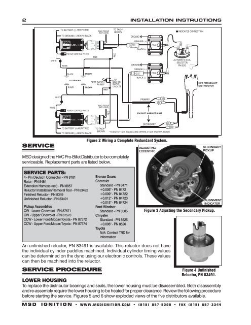 msd 83921 distributor installation instructions jegs msd 6ls wiring harness catalogue of