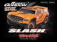 Dakar Slash (#5804) - Manual - Traxxas