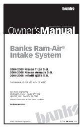 96498-Nissan Titan Ram Air Intake-v3.indd - Banks Power