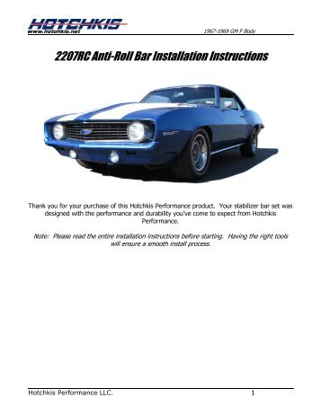 Installation instructions for tek208-rtp175c roll bar mount for.